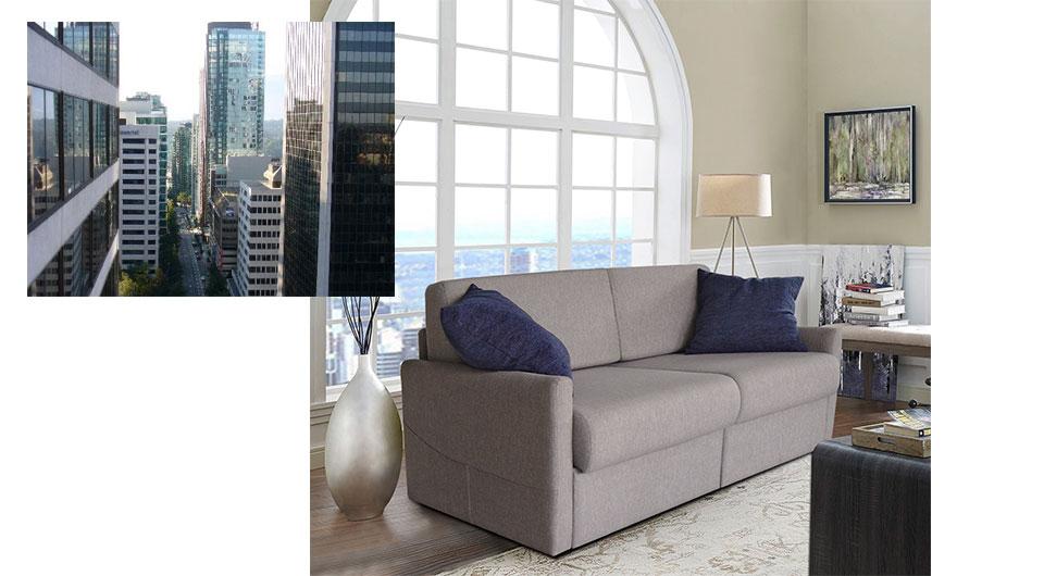 Serla 2'li yataklı kanepe, çekyat