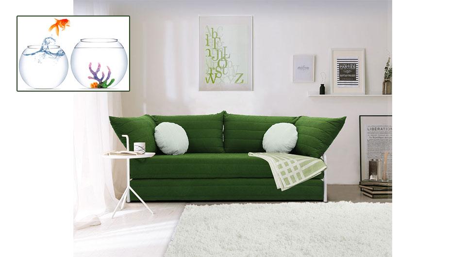 Sertino 3'lü yataklı kanepe, 3'lü koltuk