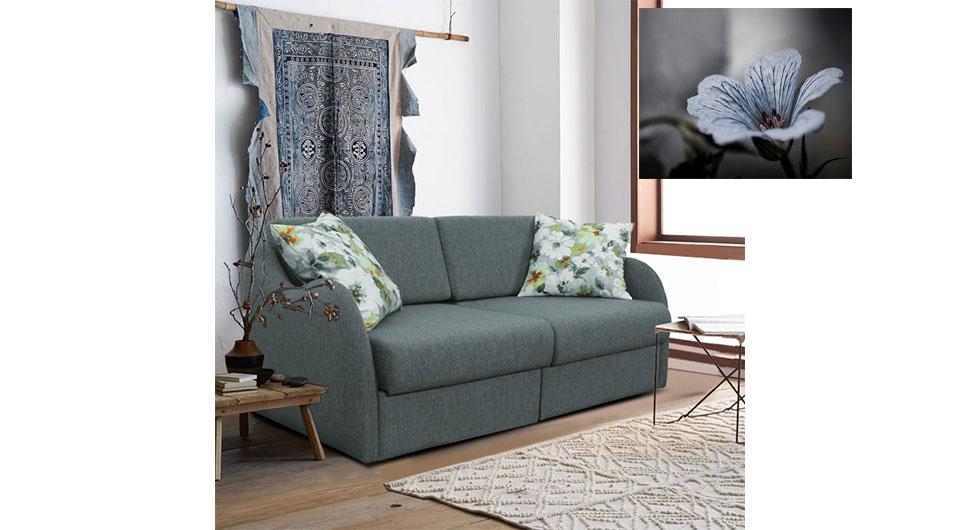 Servidi 2'li yataklı kanepe, 2'li koltuk, çekyat